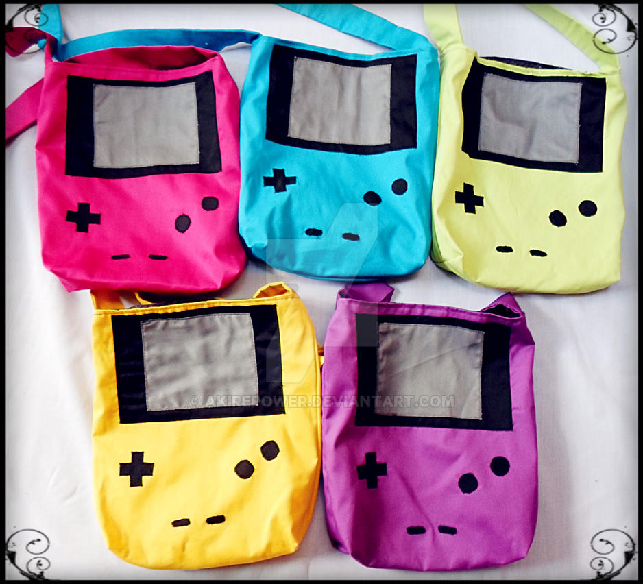 GAME BOY COLOR BAGS (VENEZUELA) by akirepower