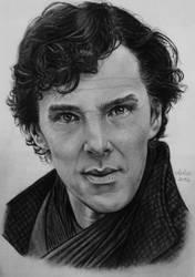 Benedict Cumberbatch by CarlaTeresa