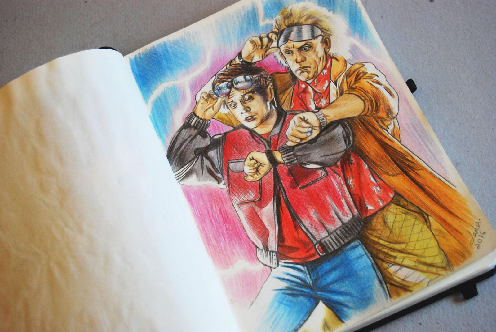 Back To The Future By CarlaTeresa On DeviantArt