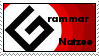 "Grammar ""Natzee"" Stamp by Robert777"