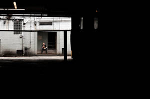 The man Waiting by CropPhotography