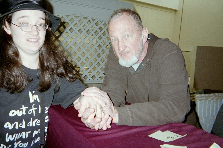 Robert Englund and Me 4 by DreamRevolution