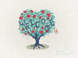 Valentine Welcome by IngridTan