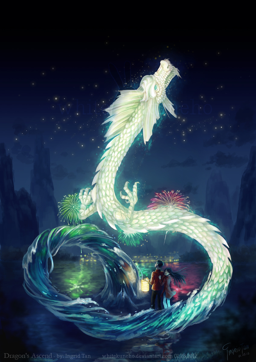 Dragon's Ascend by IngridTan