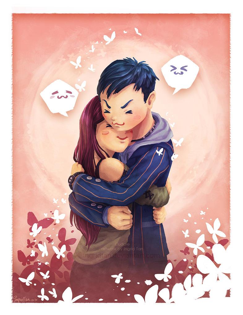 Cuddle by IngridTan