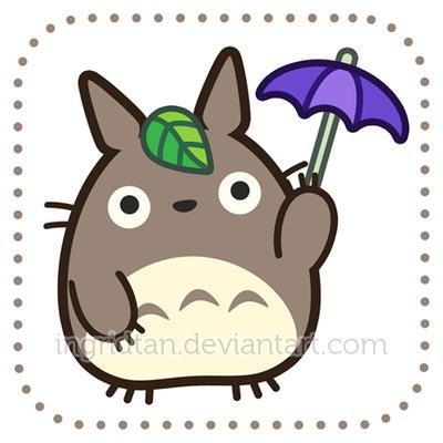 Chibi Totoro by IngridTan