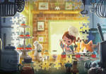 Puzzles of Imagination: Cupcake Bakery