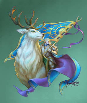 The Great Stag and the Elven Prince
