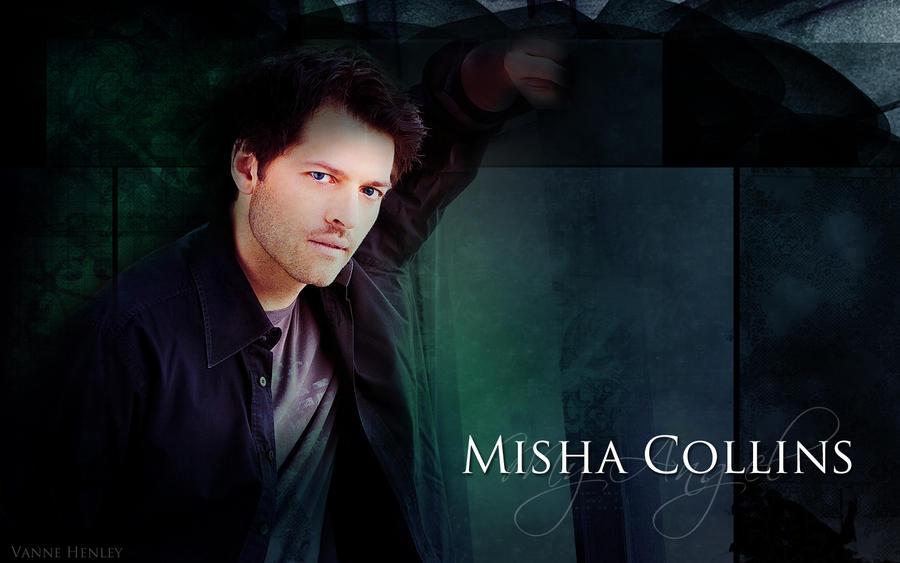 Misha Collins Wallpaper By VanneHenley