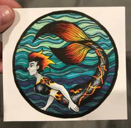 The Devils Roar Mermaid by Kentwothree