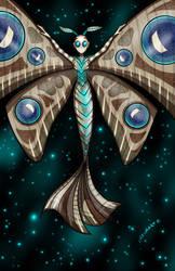 Mothra Inspired Mermaid