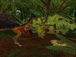 ZT2 Showcase - Caudipteryx by ProfDanB