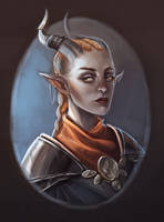 Inquisitor Adaar by jazzmire