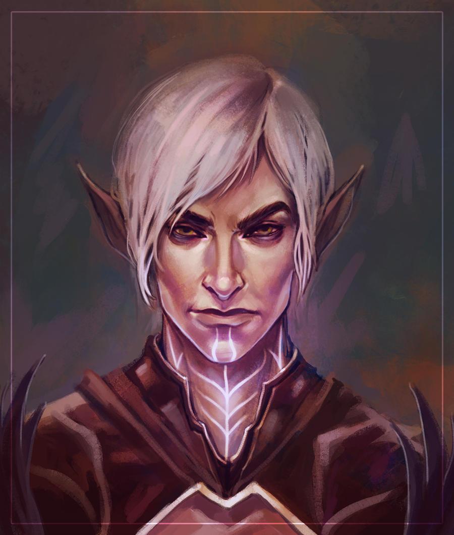 ihnnnohu: dragon age 2 fenris