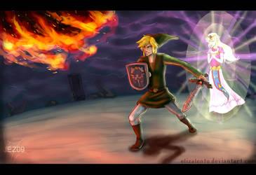 Zelda: Defend Your Princess by ElizaLento