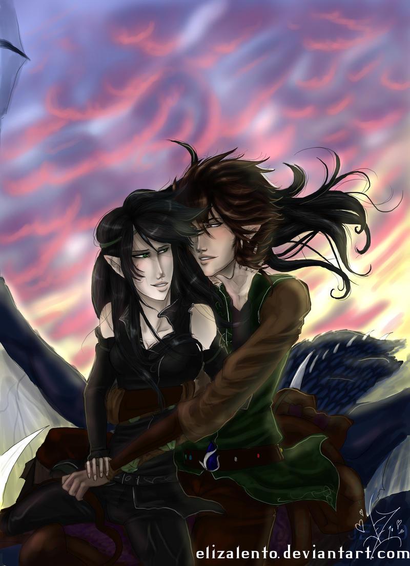 Eragon and Arya - Valentines Eragon And Arya Drawings