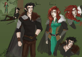 Inheritance: Ismira and Vanis by ElizaLento