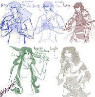 Inheritance Sketch vids batch 1 by ElizaLento