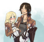 Christa and Ymir
