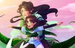 Arya and Flora: Memories