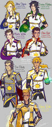Generals and Captains by ElizaLento