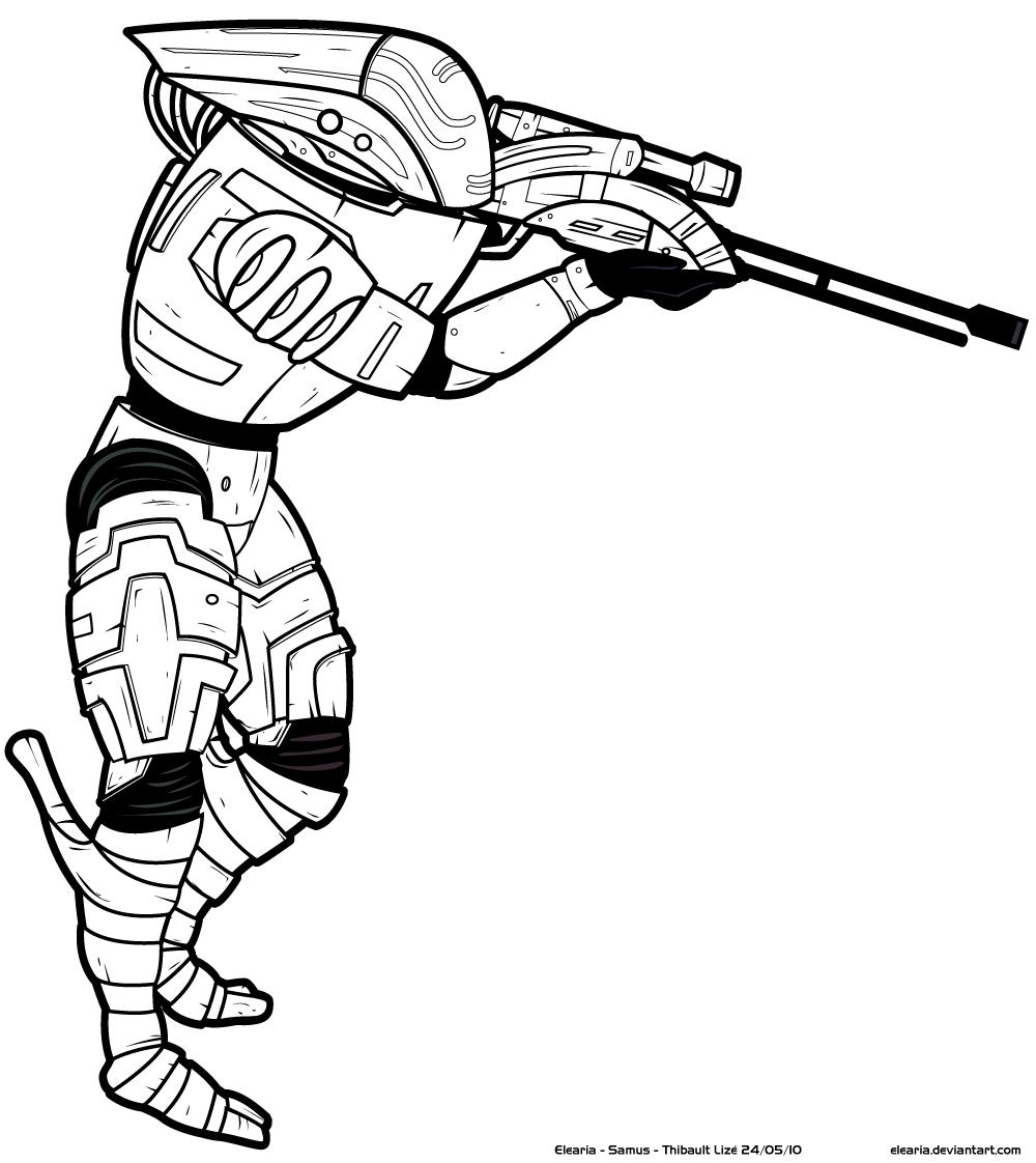 Раскраски снайперов