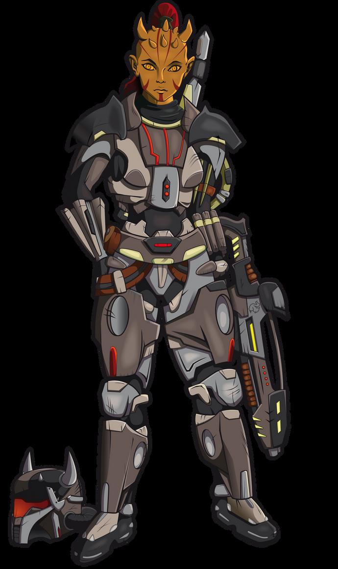 [Missions Accomplie] Le Vent d'Argent Zabrak_bounty_hunter_swtor_sam_by_elearia-d42dswk