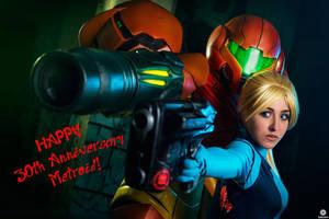 Happy 30th Anniversary Metroid
