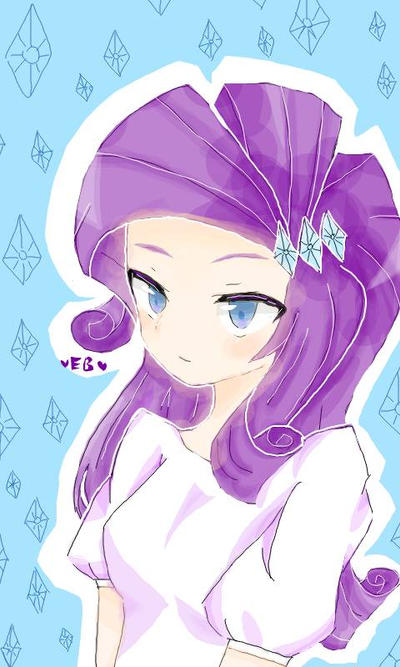 Rarity by Eleanorblue