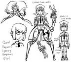 Quad Amputee Cyborg Child