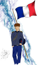 French Officer by Solfugo