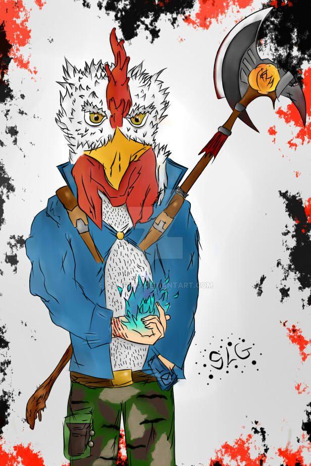 Chicken'Power by Solfugo