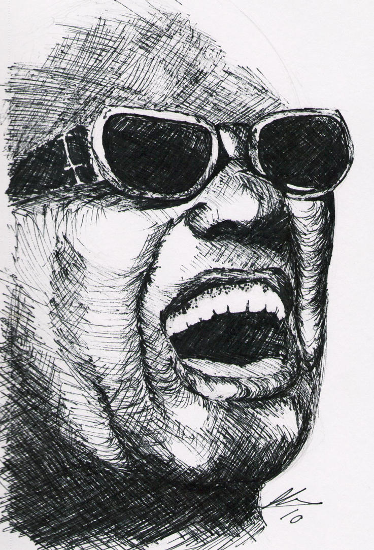 Ray Charles by MissMan69