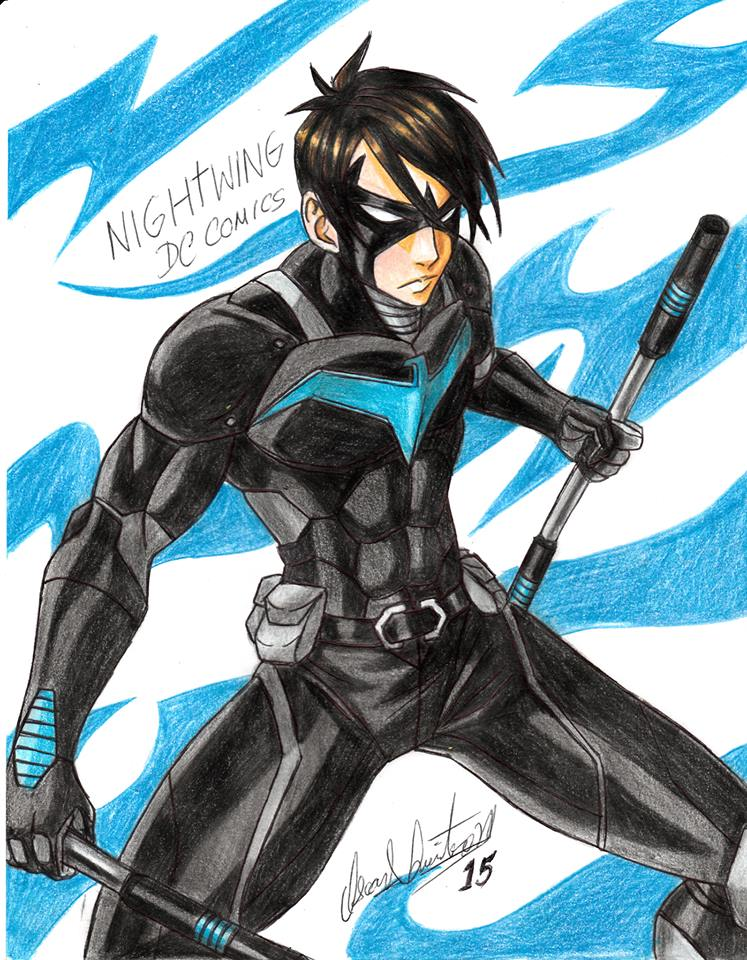 Dc Comics Fans : Nightwing dc comics fan art by ravernclouk on deviantart