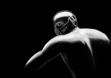 Bane - Dark Knight Rises by grampsart