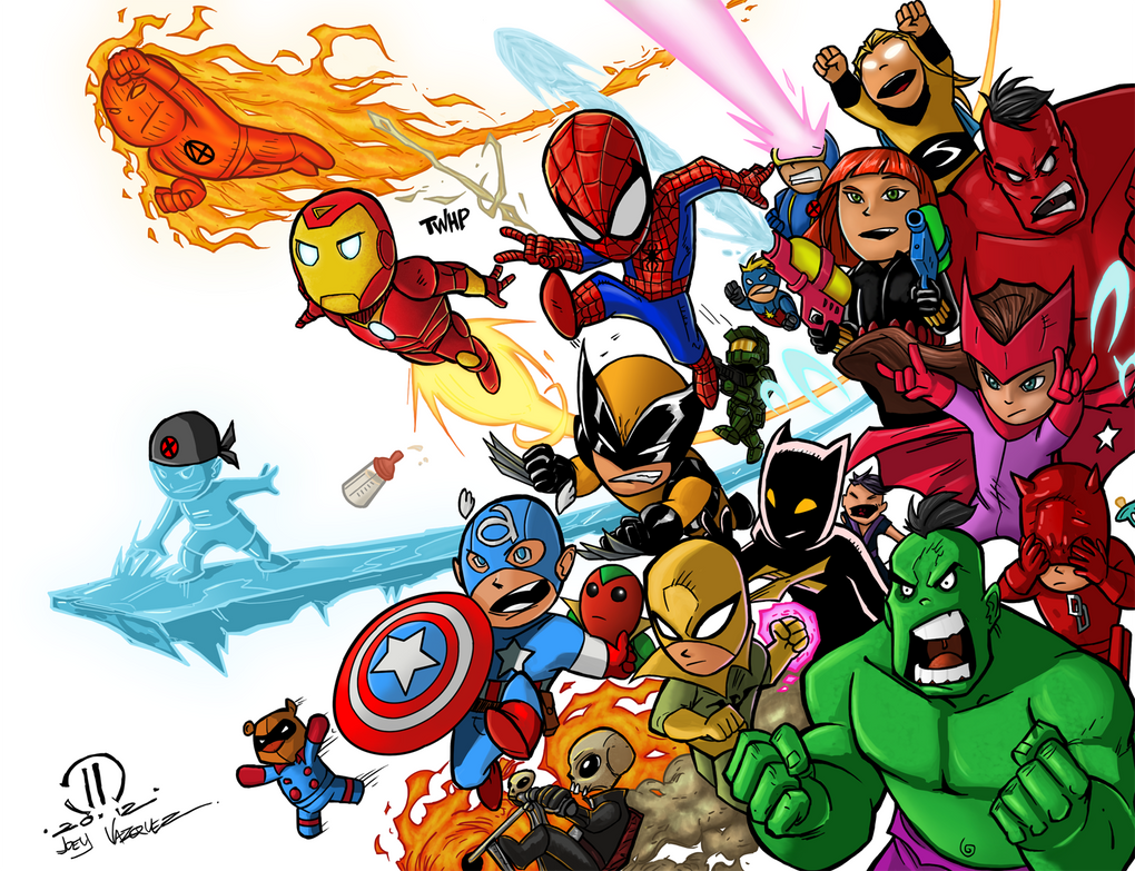 Baby Avengers By Grampsart On DeviantArt