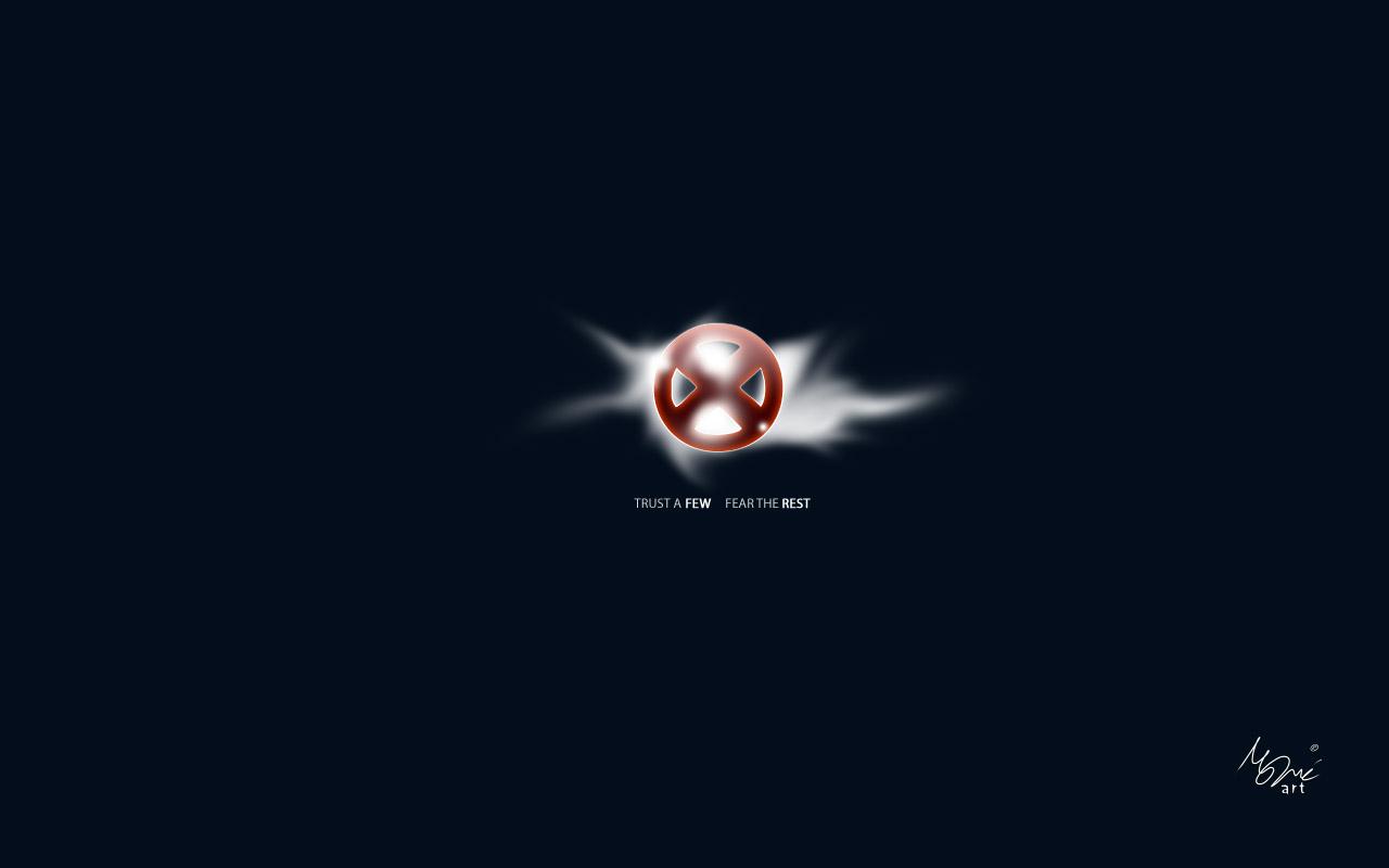 Men Logo Wallpaper X-men logo by maneplX Men Logo Wallpaper