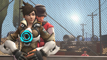 Scout x Tracer by Mr-SFM