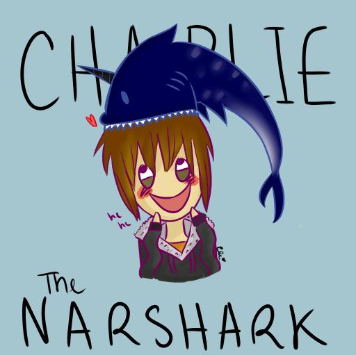 Charlie the Narshark by ElliChuu
