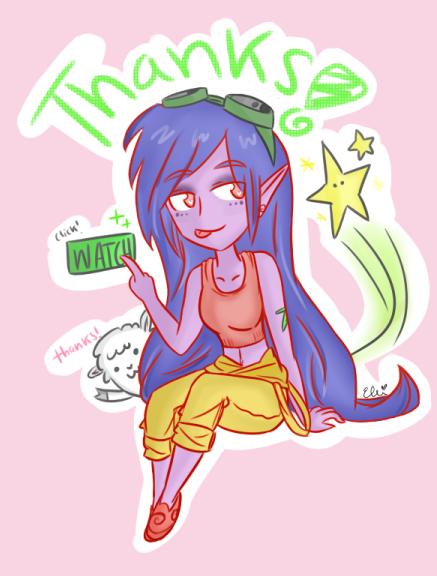 Thanks! - DA Version by ElliChuu