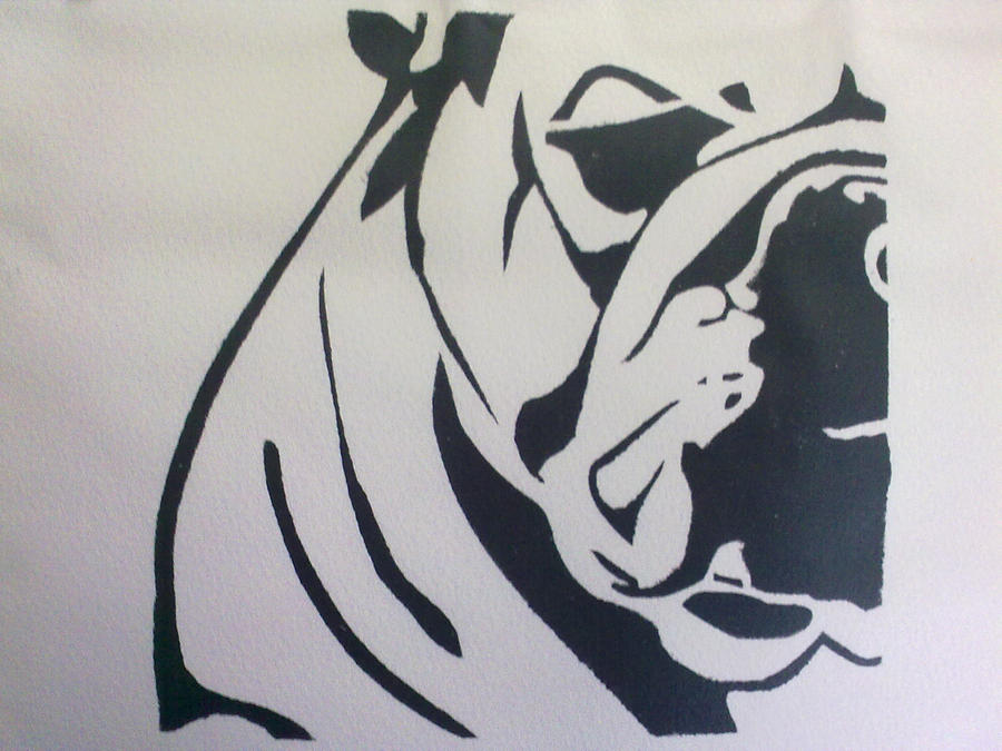 bulldog stencil bulldog by pialiali on deviantart 9460