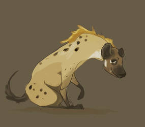 Hyena by Goldenglows