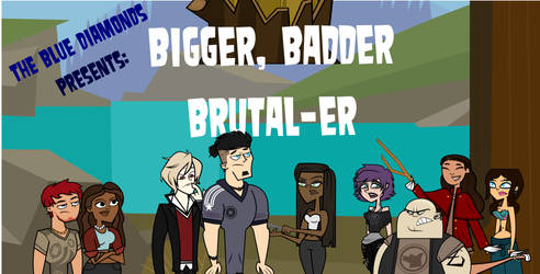 Total Drama Island 2: Bigger Badder Brutal-er by Lost-Specimen