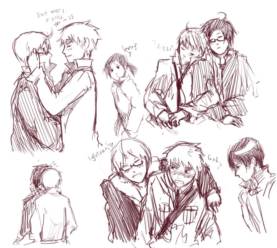 APH doodles by oreokoockee