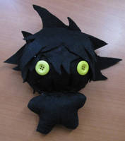 Shadow Sora Plushie by SteveRGR