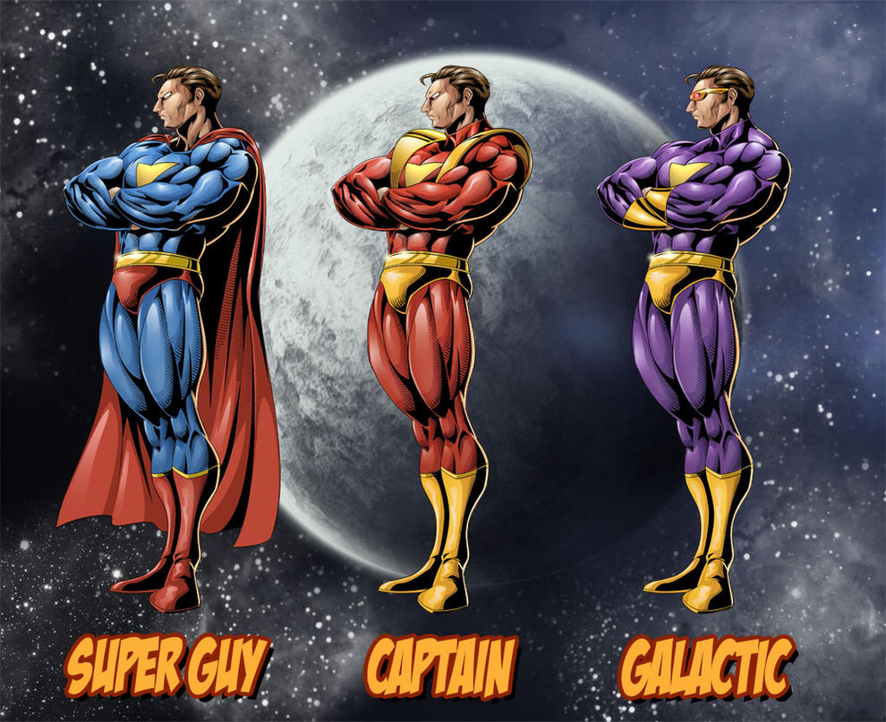 Superhero Styles by ric3do