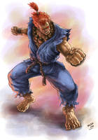 Akuma SF by ric3do
