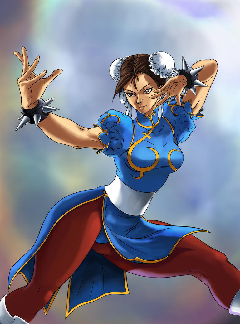 Chun Li Classic by ric3do
