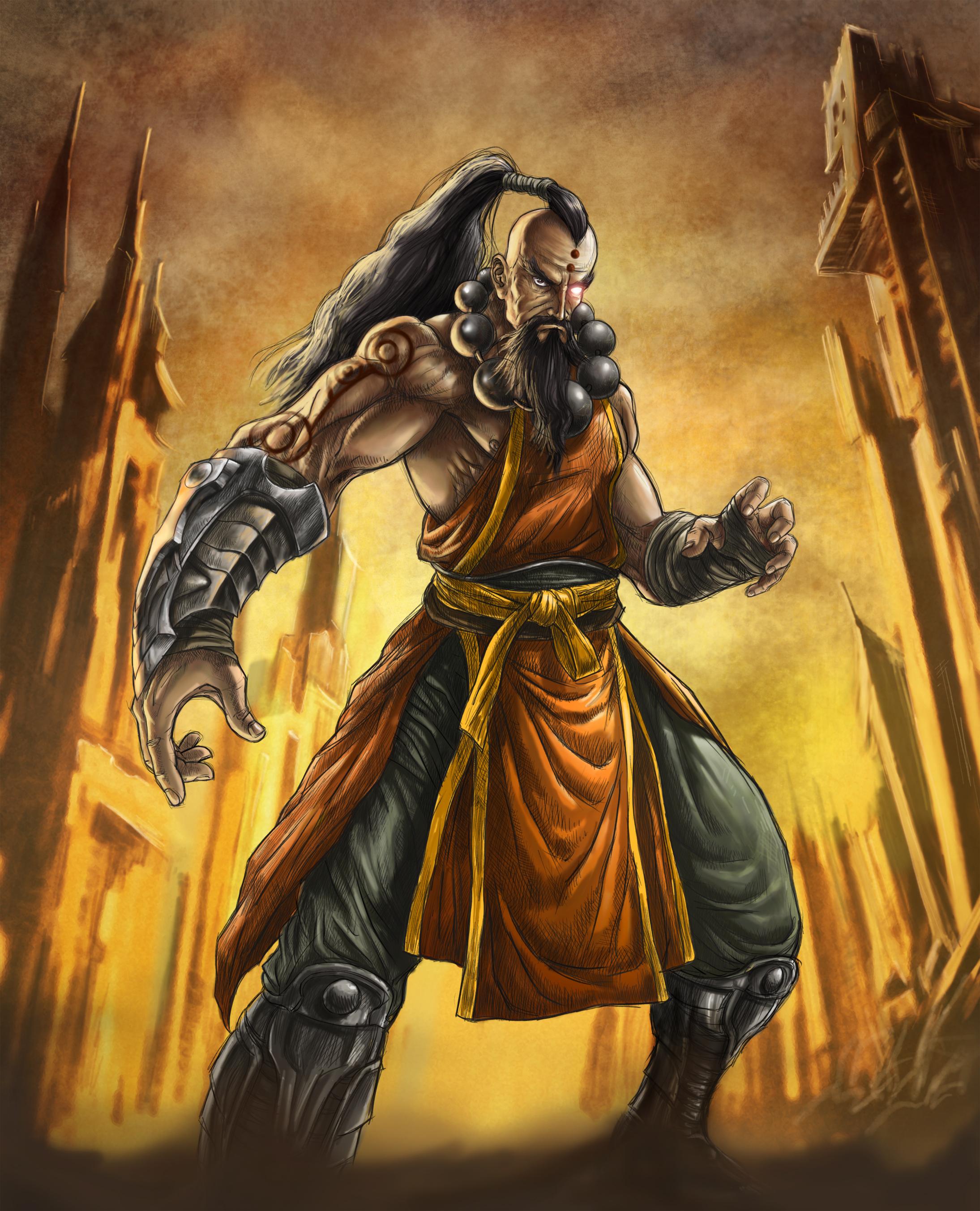 Diablo III: The Monk by ric3do on DeviantArt