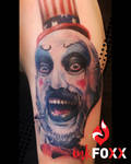 Captain Spaulding Color Realistic Tattoo